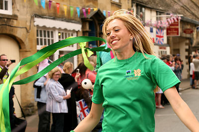 Lloyds TSB Promotions at Olympic Torch Relay
