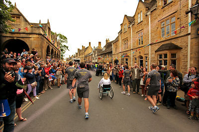 pic Torch Relay in Chipping Campden