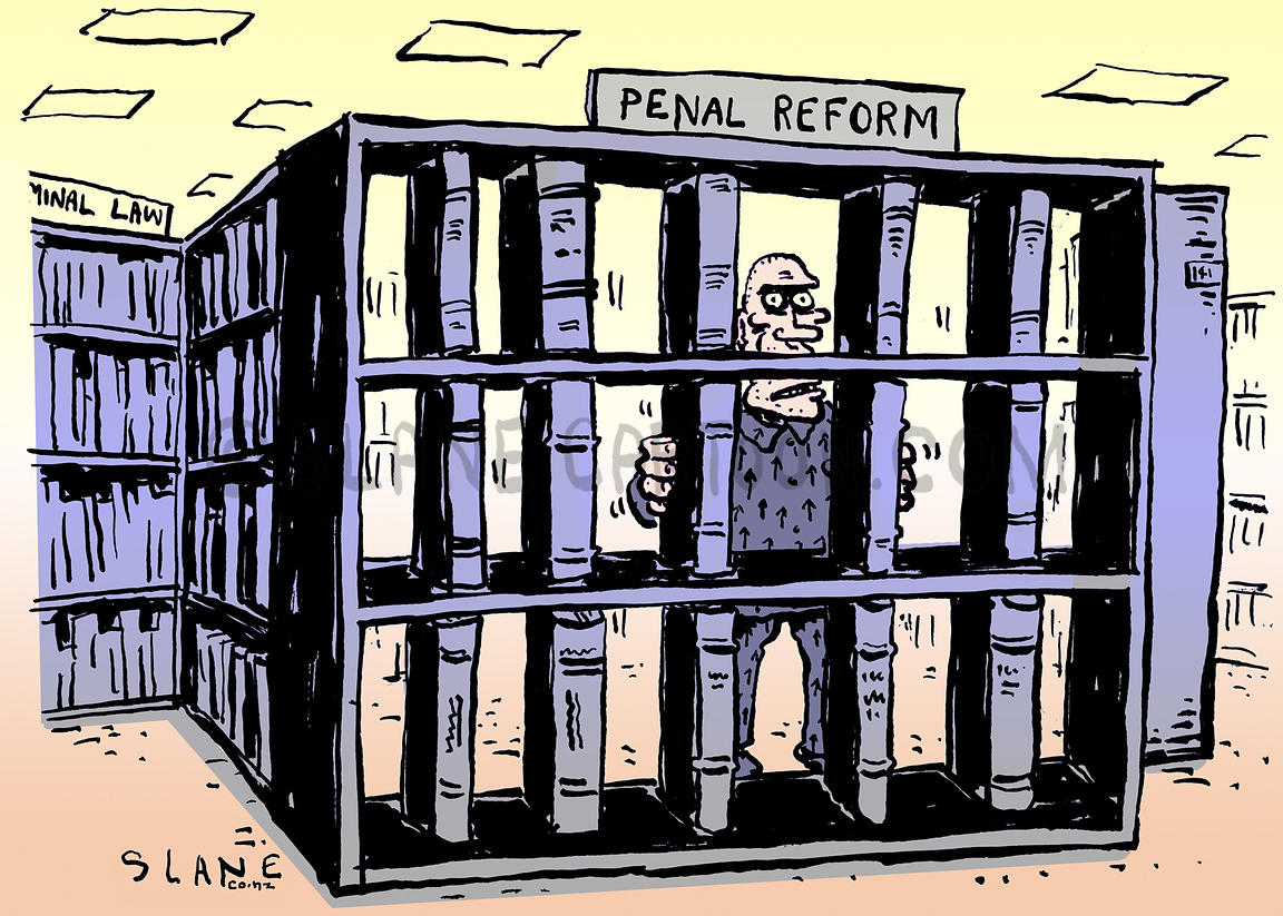 Penal Reform Bookcase