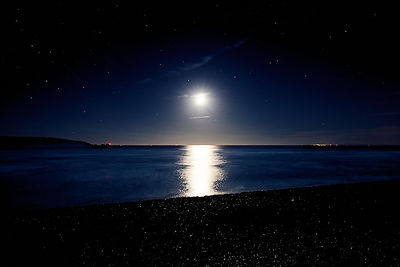 Midnight_moonset_over_Christchurch_Bay