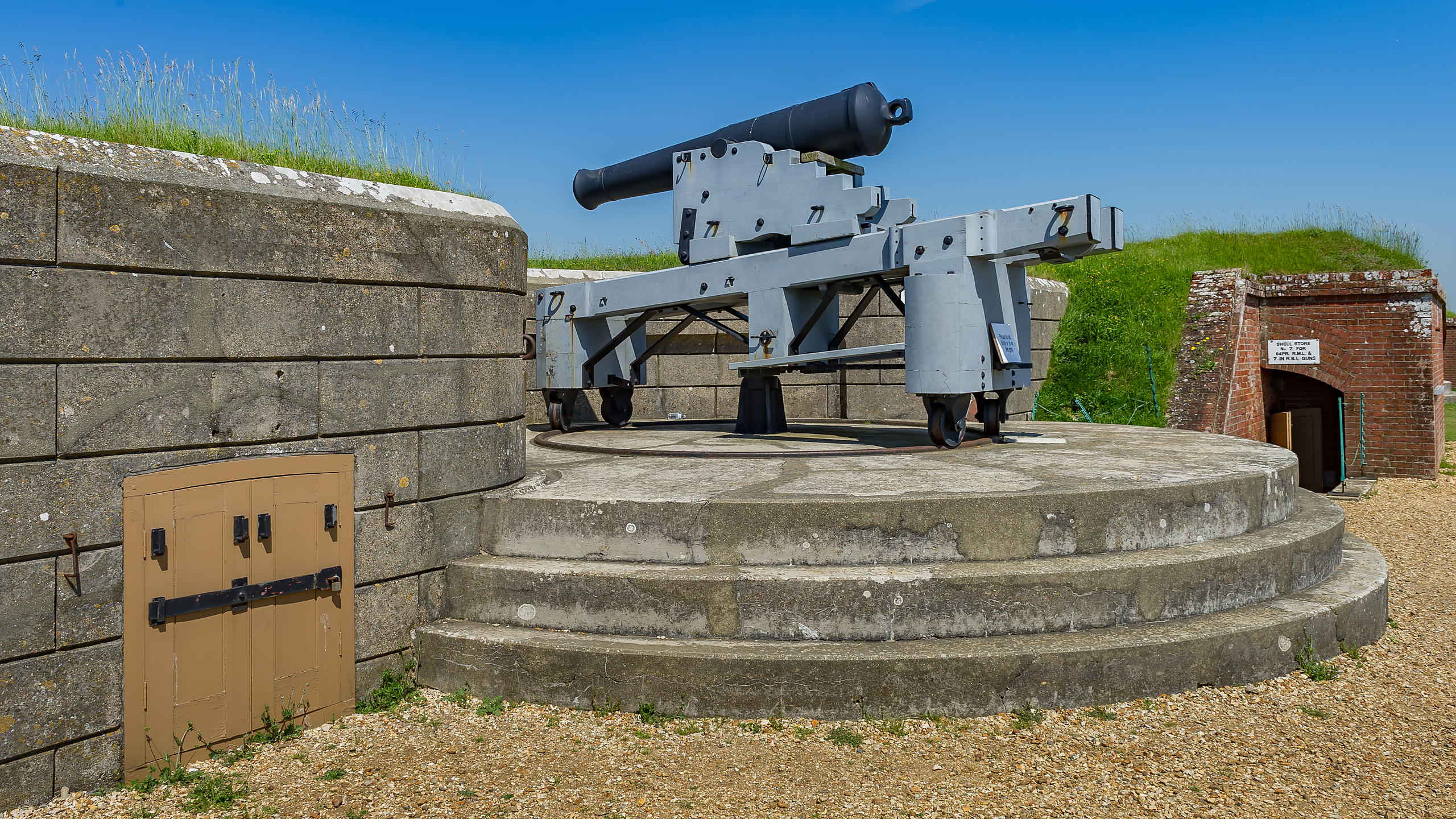 Fort Nelson, on Portsdown Hill Overlooking Portsmouth