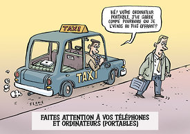 Ordinateur Portable Taxi (French)