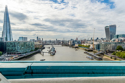 London Skyline From Tower Bridge