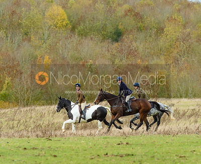 Sophie Walker at Stone Lodge. The Cottesmore Hunt at Tilton