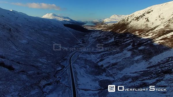 Loch Maree Scotland in Winter