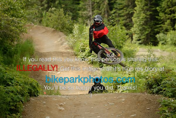 Friday July 6th Aline First Hit bike park photos