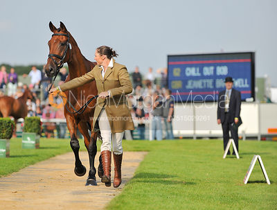 Jeanette Brakewell and Chill Out Bob - 2nd Inspection - Burghley 2010