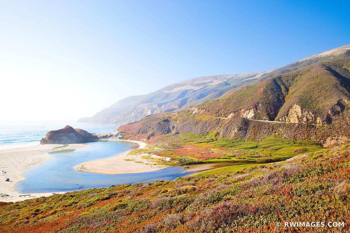 BIG SUR PACIFIC COAST HIGHWAY ONE CALIFORNIA