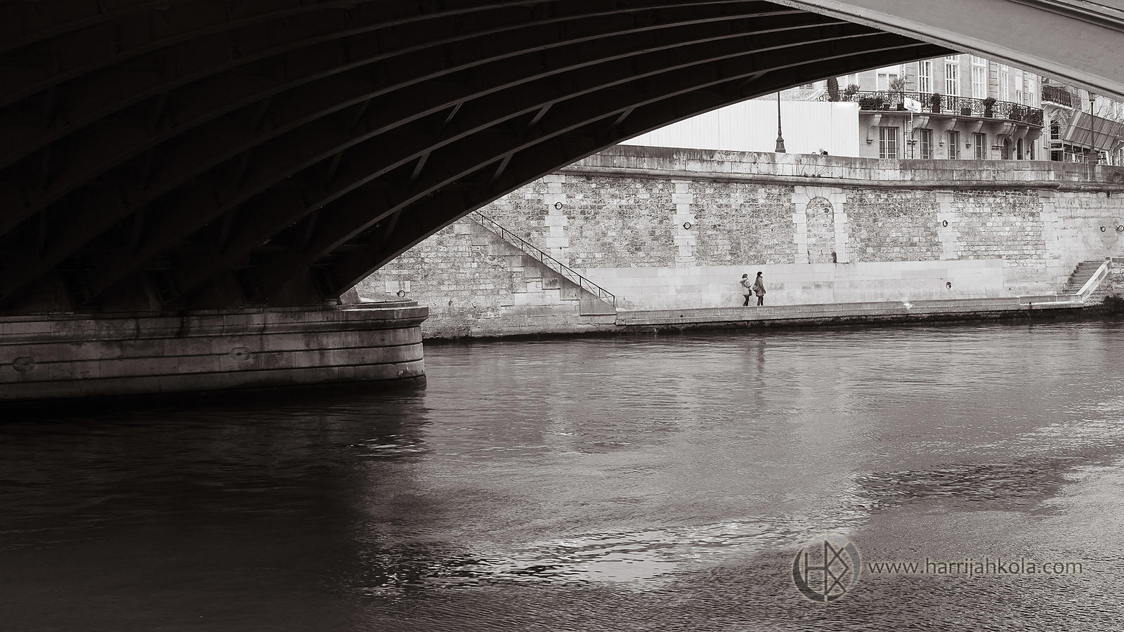 France - Paris (Pont de Sully - Flow)