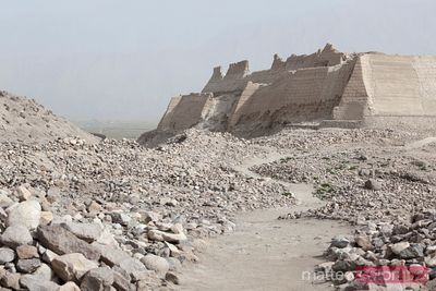 Ruinas antiguas en Tashkurgan, Xinjiang, China