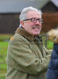 Peter Morritt at the meet - The Quorn Hunt at Markham House 21/12