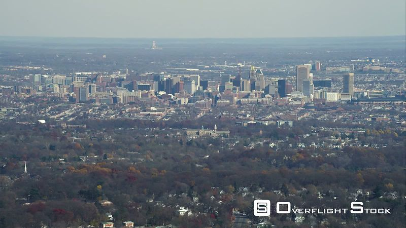Approaching Baltimore, Maryland. Shot in November