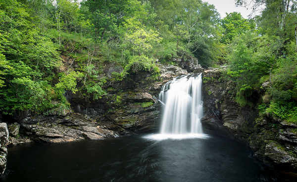 The Falls of Falloch by Loch Lomond