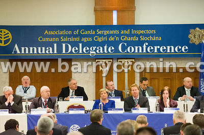 Wednesday 1st April, 2015 - The Association of Garda Sergeants and Inspectors (AGSI) 2015 Annual Delegate Conference in the K...