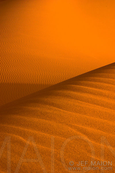 Dune as an abstract shape