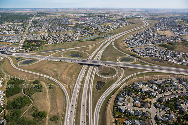 Stoney Trail at Crowchild Trail Interchange