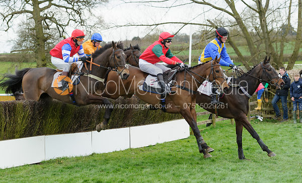 Tom Chatfeild-Robert and CURNALEE COLEEN (2), Tom McClorey and GRUMBLERS HOLT (4)