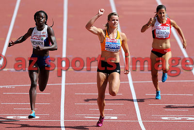 100m Dafne SCHIPPERS (NED),Desiree HENRY (GBR)
