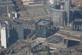 101 Embankment and West Tower developments Chapel Street Manchester