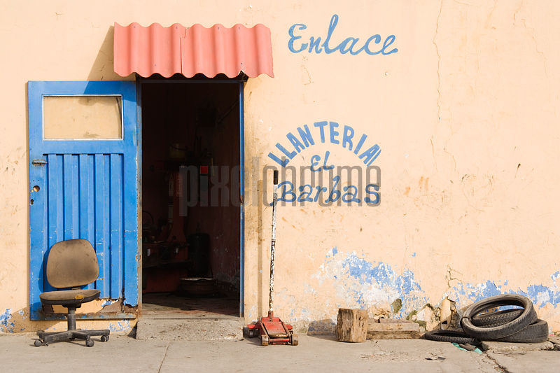 Tyre Store Cartagena Colombia South America