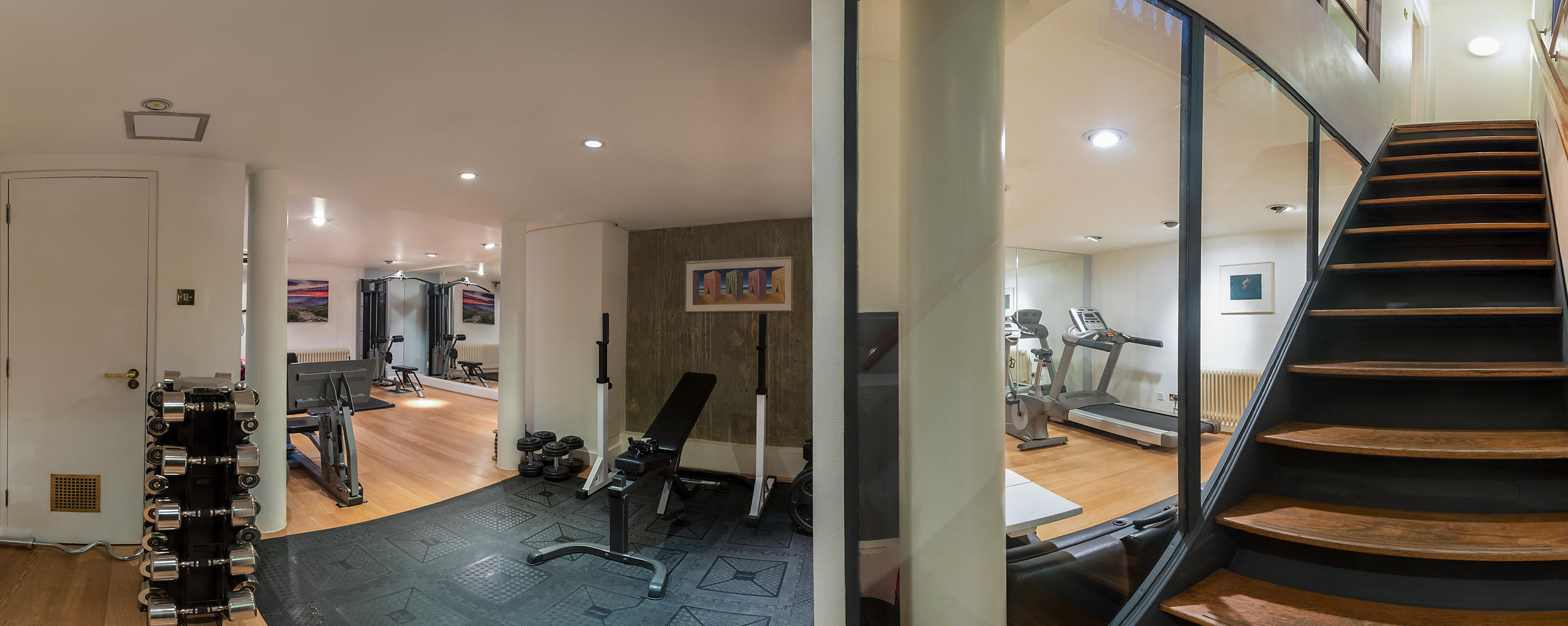 Mayfair Private Gym Interior