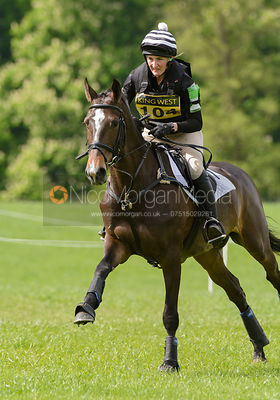 Charlotte While and CARA MIA Z - Brigstock International Horse Trials, Rockingham Castle 2014