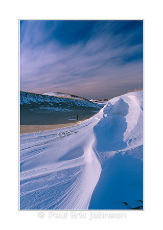 snow drift dunes