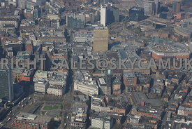Arndale Centre and the Northern Quarter Manchester