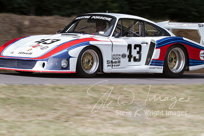 Porsche 935/78 'Moby Dick' (3.2-litre turbocharged flat-6, 1978) on Goodwood Hill - Goodwood Festival of Speed 2013
