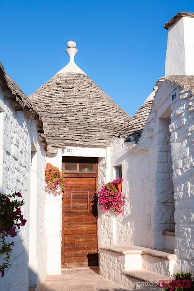 Typical Trulli house, Alberobello, Apulia, Italy