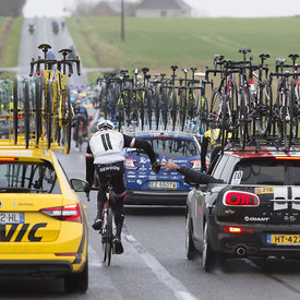 Paris-Nice 2017: Stage 2 in Angerville and Chateau Renard