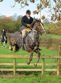 James Collie jumping a hunt jump