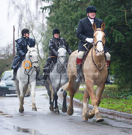 Ian Bell - The Cottesmore Hunt at Belton-in-Rutland 21/12