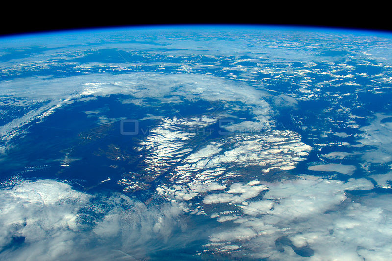 Tim Peake sends amazing photo of Scotland