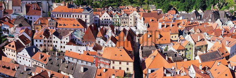 Over the Rooftops of Cesky Krumlov