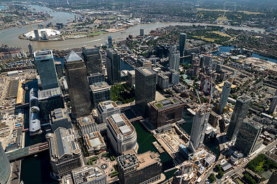 Canary Wharf London England