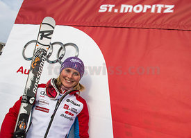 FIS Ski World Cup 2013/2014 Ladies in St.Moritz Ladies Giant Slalom