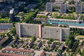 Breda - Luchtfoto Jan Darkennisstraat