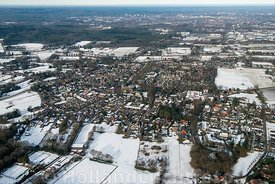 Beekbergen - Luchtfoto in de winter