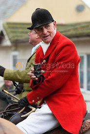 Robin Smith-Ryland At the meet. The visit of the Wynnstay Hounds to the Cottesmore 27/11