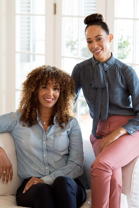 Female winemakers and sisters Robin & Andréa McBride photographed for Worth Magazine by Napa photographer Jason Tinacci