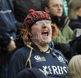 Scotland v Ireland, 6 Nations Championship, Sunday 24th February 2013.