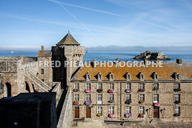 Le château, Fort National à Saint Malo