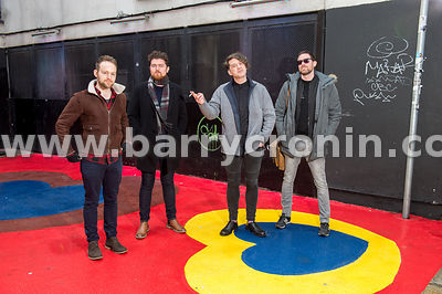 14th January, 2017.The band Imlé who are from left: .Photo: BARRY CRONIN/www.barrycronin.com..Phone: 046-9055044/087-9598549 ...