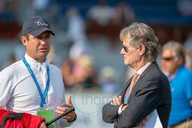 19/07/18, Aachen, Germany, Sport, Equestrian sport CHIO Aachen 2018 - ,  Image shows Devin Ryan and Robert Ridland. Copyright...
