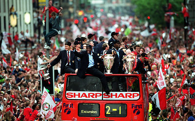1999  Manchester United victory parade