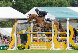 Andrew Nicholson and NEREO - show jumping phase, Burghley Horse Trials 2013.