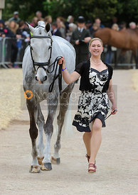 Tiana Coudray and RINGWOOD MAGISTER - First Horse Inspection, Mitsubishi Motors Badminton Horse Trials 2014