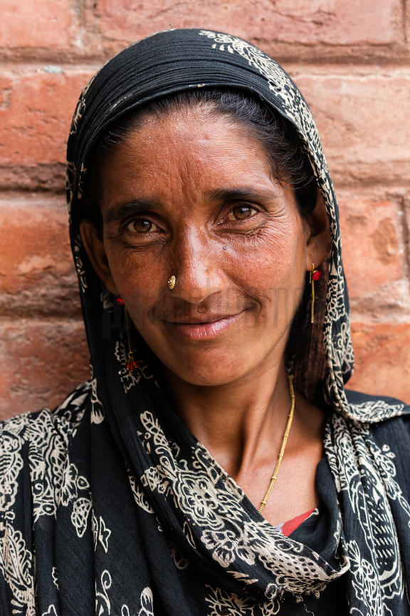 Portrait of a Gujar Woman