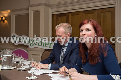NO REPRO FEES - 11th May, 2018. Pictured at the 'Get Together For Yes' tour at the Temple Gate Hotel, Ennis were guest speake...